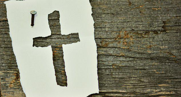 Cross, Nail, Symbol, Wood, Old, Woods, Christianity
