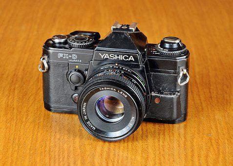 Camera, Old Camera, Yashica, Yashica Fx-d, Photo