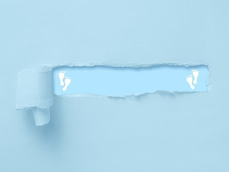 Background, Announcement, Coming Soon, Baby, Boy, Blue