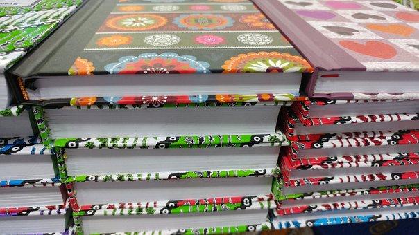 Book, Batik, Stack Of Book, Pattern, Paper