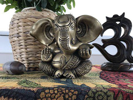 Buddha, Sculpture, Art, Statue, Yoga, Ganesha