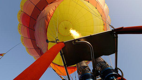 Hot Air Balloon, Burner, Hot Air Balloon Rides, Fun