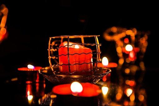 Illuminated Call Out, Flame, Celebration, Christmas