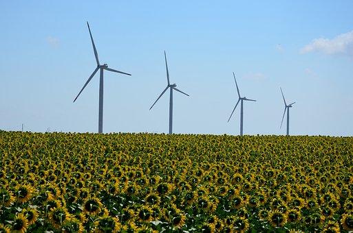 Windmill, Turbine, Energy, Electric, Electric Generator