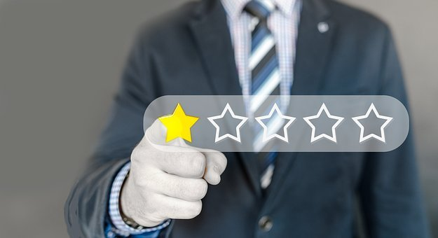Criticism, Write A Review, Review, Star, Hand, Finger