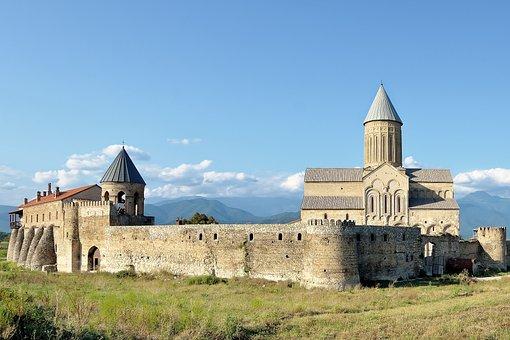 Caucasus, Georgia, The Monastery Of Alaverdi