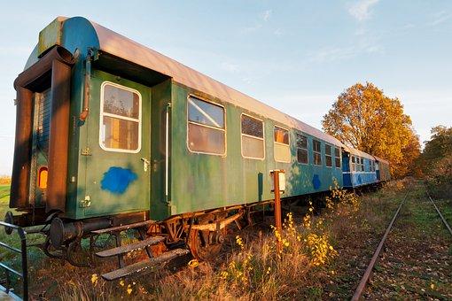 Leave, Train, Railway Line, Railway, Travel