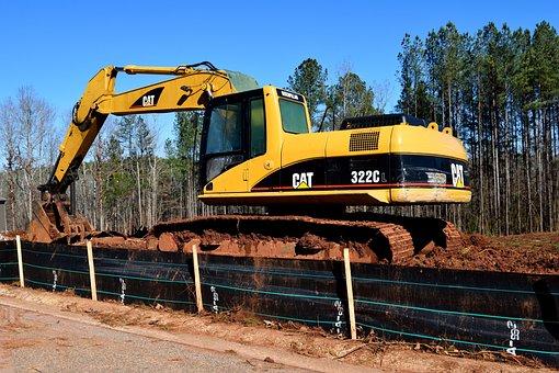 Machine, Industry, Soil, Equipment, Shovel, Scoop