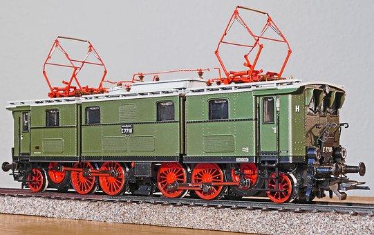 Old Elektrolok, Model, Model Train, Scale H0, Toys