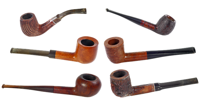 Smoking Pipe, Tobacco, Tube, Smoking, Smoke, Nicotine