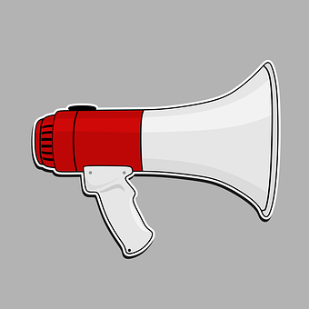 Megaphone, Speaker, Loud, Shouting, Amplifier, Noise