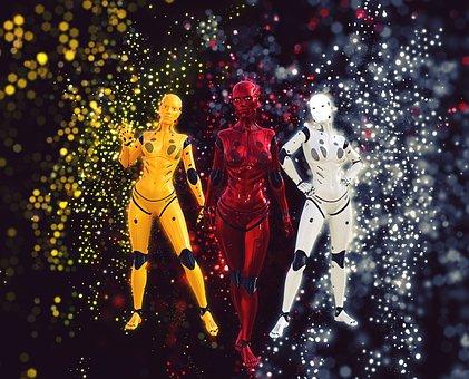 Android, Robot, Cyborg, Futuristic, Robotic