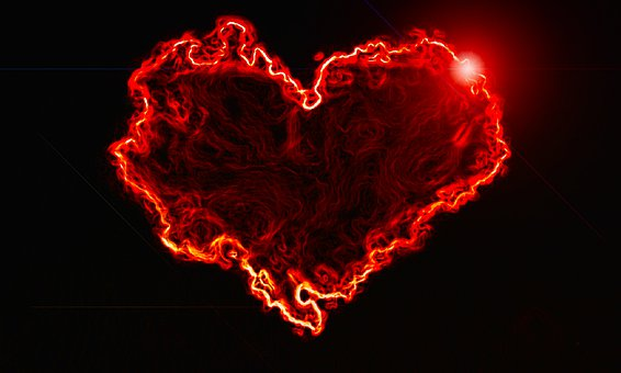 Flare-up, Brand, Form, Flammable, Heart, Romance, Hot