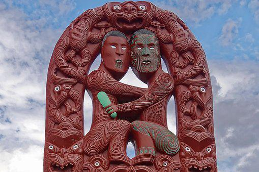 New Zealand, Rotorua, Te Puia, Maori, Art, Carve