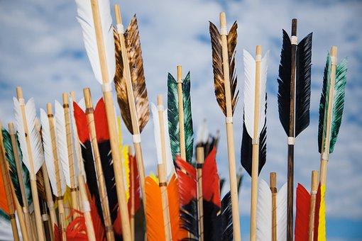 Arrows, Archery, Fletching, Sky, Arrow, Bow