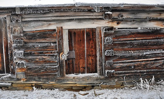 The Door, House, Old, Wooden, Abandoned, Belko, Wall