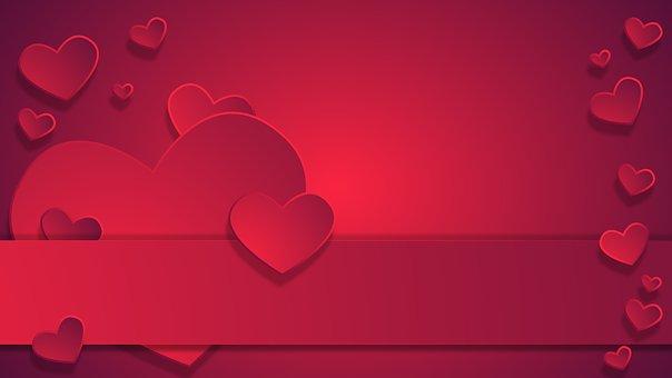 Background, Valentine's, Day, Love, Valentine, Red