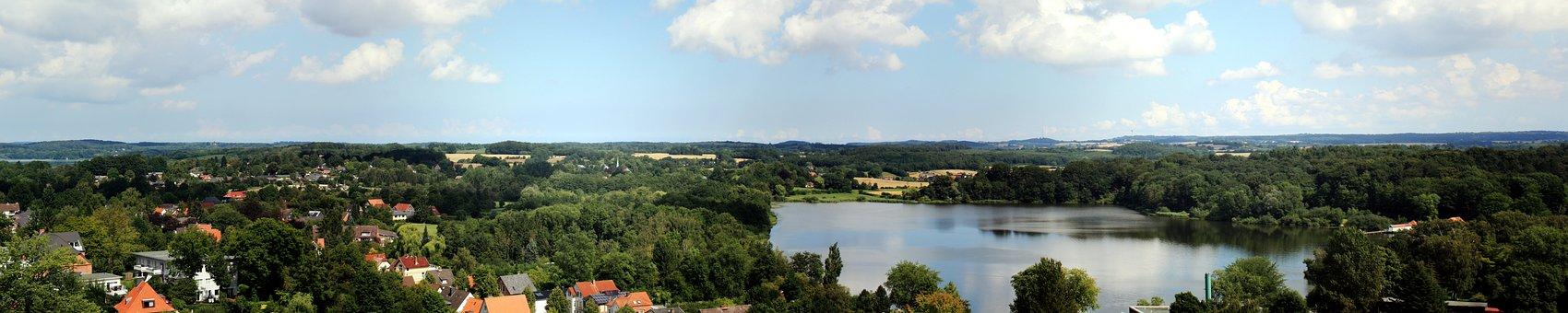 Panorama, Panoramic Image, Nature, Waters, Landscape