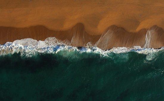 Daylight, Water, Nature, Aerial View, Coastline, Sea