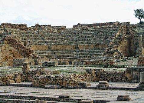 Archaeology, Antique, Temple, Pierre, Architecture