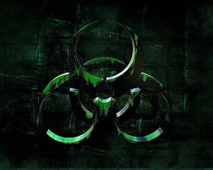 Background, Biohazard, Risk, Biological, Toxic, Symbol