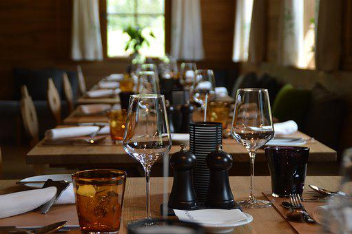 Table, Bar, Restaurant, Drink, Food, Chair, Furniture