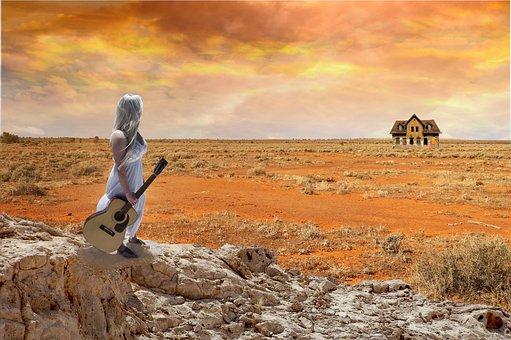 Desert, Sky, Nature, Landscape, Dry, Drought, Ground