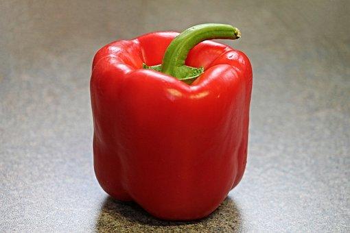 Paprika, Pod, Vegetables, Food, Red, Eat, Healthy