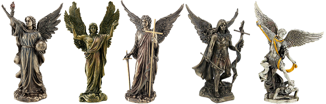 Tin Figures, Angel, Tin, Isolated, Pewter, Figure, Wing