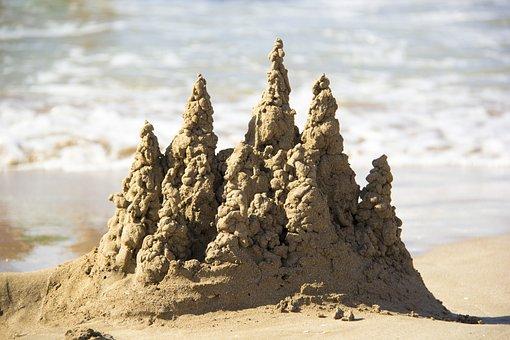 Sand, Water, Beach, Nature, Sea, Travel, No One, Ocean