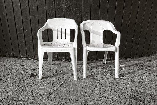 Chair, Garden Chair, White Chair, Plastic Chair, Seat