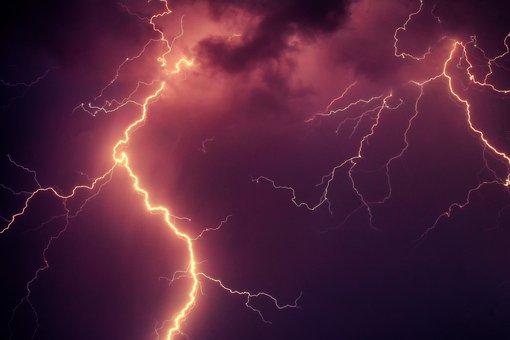 Flash, Thunderbolt, Thunder, Thunderstorm, Clouds, Sky