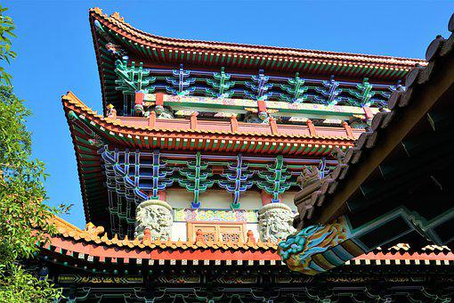 Temple, Pagoda, Roof, Travel, Prohibited, Culture