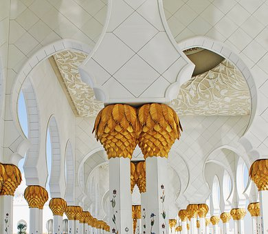 Decoration, Religion, Gold, Art, Architecture