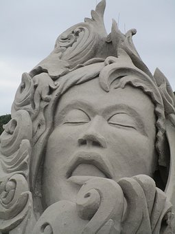Sculpture, Statue, Art, Sand, Sand Sculpture, Artwork