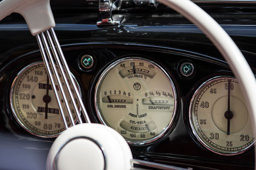 Instrument, Gauge, Auto, Dashboard, Bmw, Oldtimer