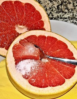 Fruit, Grapefruit, Grown, Exotic Citrus Fruit