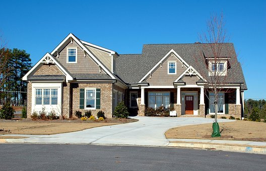 Driveway, Suburb, House, Garage, Family, Entrance