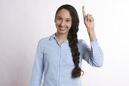 Idea, Pointing, Raise Hand, Raise, Question, Answer