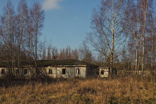 Lost Places, Barracks, Abandoned, Old, Decay, Ruin