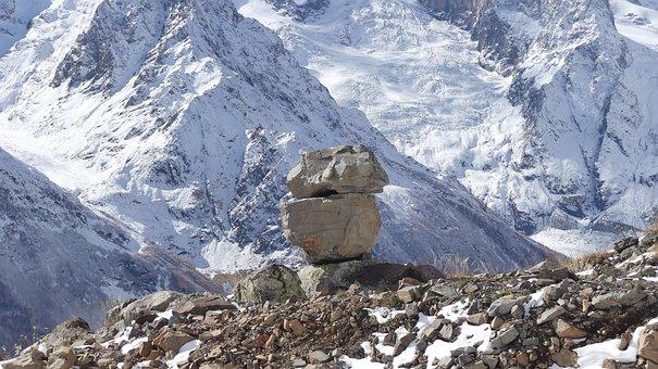 Snow, Mountain, Mountain Peak, Nature, Ice, Landscape