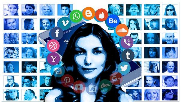 Portrait, Woman, Network, Women's Network, Networking