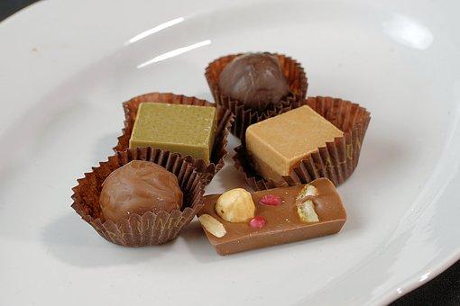 Praline, Chocolate, Food, Dessert, Sugar, Sweet, Nibble
