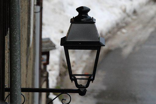 Lantern, Lamp, Old, Road, Architecture, Urban, Antique