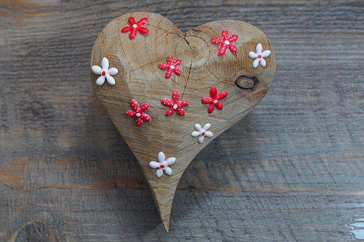 Heart, Ornament, Deco, Greeting Card, Decorative