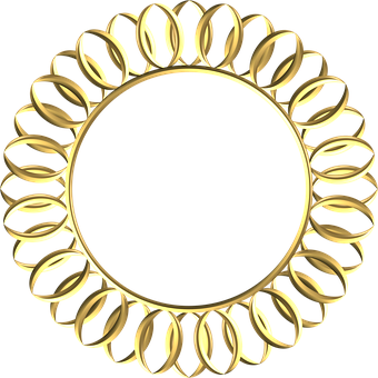 Frame, Gold, Ornate, Metal, Ornament, Decoration