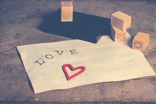 Paper, Love, Valentine, Romantic, Background, Heart