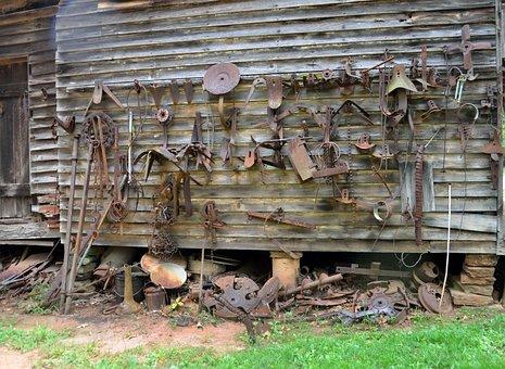 Old, Wood, Abandoned, Wooden, Rusty, Vintage, Broken