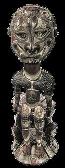 Sculpture, Holzfigur, Africa, Shaman, Medicine Man