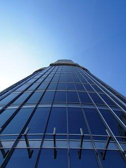 Architecture, Sky, Glass, Company, Modern, Dubai